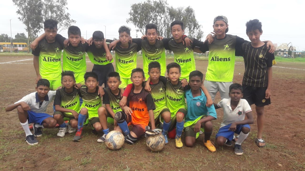 Ishwarpuram Football team